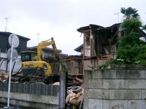 埼玉県さいたま市北区 家屋解体工事&ブロック工事のイメージ画像