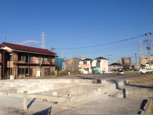 東京都足立区 区画整理基礎残し アパート解体工事 完工写真 のイメージ画像