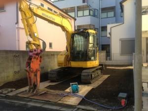 東京都23区 葛飾区亀有 家壊す工事・足場養生工事のイメージ画像