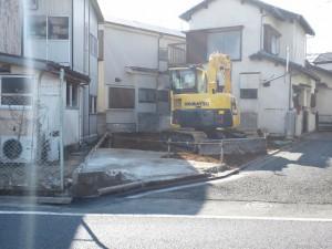 葛飾区 木造家屋 解体工事・足場工事のイメージ画像