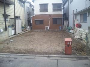 東京都 23区内 足立区 綾瀬 木造2階建 家屋 解体工事 のイメージ画像