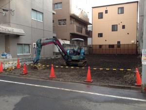 東京都 23区 江東区毛利 地中障害物撤去工事 のイメージ画像