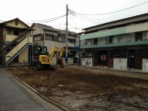 東京都 都内 葛飾区 西亀有  木造 アパート 45坪 解体工事のイメージ画像