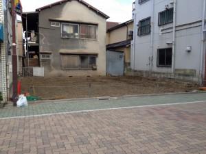 葛飾区お花茶屋 鉄骨2階建て家屋解体工事のイメージ画像
