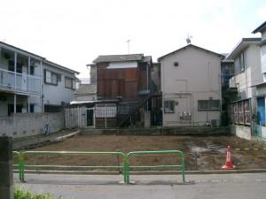 練馬区旭丘 木造平屋家屋解体工事のイメージ画像