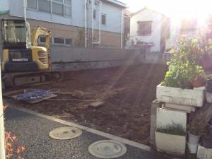 足立区西新井 木造平屋家屋解体工事のイメージ画像