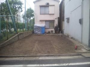 江東区大島 木造2階建て家屋解体工事のイメージ画像