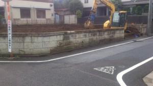 練馬区東大泉 木造2階建て家屋解体工事のイメージ画像
