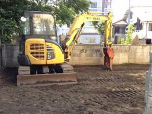 葛飾区東四つ木 木造2階建て家屋解体工事のイメージ画像