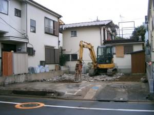 足立区舎人 木造2階建て家屋解体工事のイメージ画像
