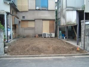 北区赤羽北 木造2階建て家屋解体工事のイメージ画像