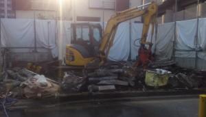 埼玉県川口市 木造2階建家屋解体工事のイメージ画像