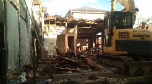 埼玉県越谷市 木造2階建家屋解体工事のイメージ画像