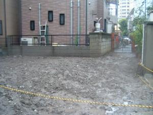 墨田区東向島 木造2階建家屋解体工事のイメージ画像
