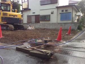 埼玉県吉川市 木造2階建家屋解体工事のイメージ画像