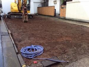 文京区湯島 木造2階建家屋解体工事のイメージ画像