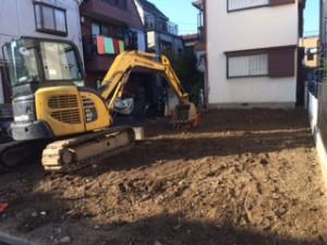 江戸川区北小岩 木造2階建家屋解体工事のイメージ画像
