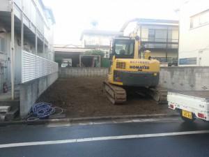 足立区東綾瀬 木造2階建事務所・住宅解体工事のイメージ画像