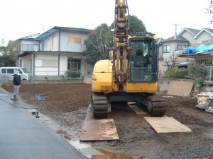 越谷市袋山 木造平屋建家屋解体工事のイメージ画像