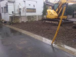 草加市西町 木造2階建家屋解体工事のイメージ画像