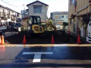 草加市氷川町 木造2階建家屋解体工事のイメージ画像