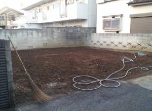 練馬区錦 木造2階建アパート解体工事のイメージ画像