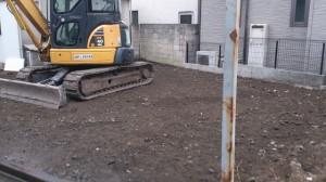 墨田区東向島 ブロック造・木造2階建家屋解体工事のイメージ画像