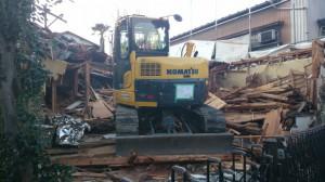 さいたま市浦和区 木造2階建家屋解体工事のイメージ画像