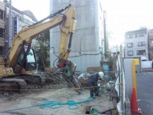 墨田区東駒形 木造2階建家屋解体工事のイメージ画像
