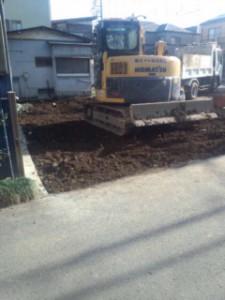 草加市小山 木造2階建家屋解体工事のイメージ画像