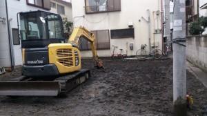 北区王子 木造2階建家屋解体工事のイメージ画像