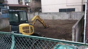 豊島区南大塚 木造2階建家屋解体工事のイメージ画像