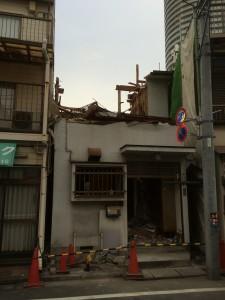 墨田区京島 木造二階建家屋解体工事のイメージ画像