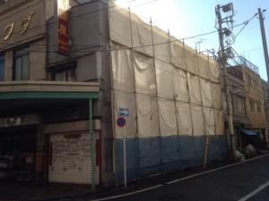 台東区松が谷 木造2階建家屋解体工事のイメージ画像