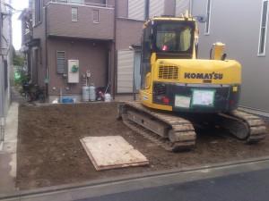 足立区西綾瀬 木造二階建家屋解体工事のイメージ画像