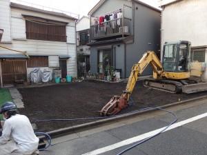 江東区亀戸 木造二階建家屋解体工事のイメージ画像