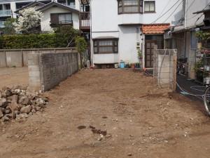 文京区本駒込 木造二階建家屋解体工事のイメージ画像