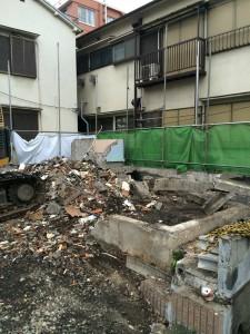 北区王子 木造二階建家屋解体工事のイメージ画像