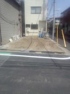 江戸川区北小岩 木造二階建家屋解体工事のイメージ画像