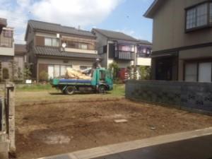 草加市谷塚町 木造二階建家屋解体工事のイメージ画像