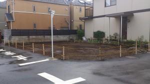 板橋区東新町 木造二階建アパート解体工事のイメージ画像