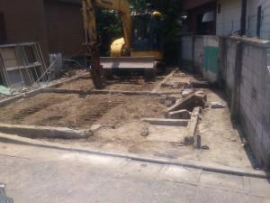 足立区西加平 木造二階建アパート解体工事のイメージ画像