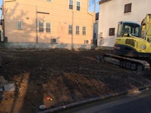 足立区南花畑 木造二階建家屋解体工事のイメージ画像