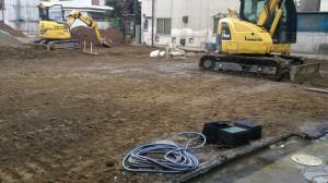 葛飾区四つ木 木造二階建アパート解体工事のイメージ画像