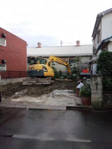 足立区花畑 木造二階建家屋解体工事のイメージ画像