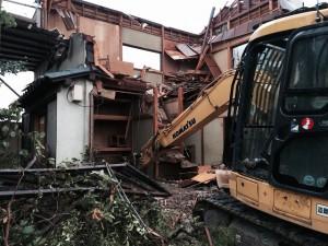 足立区六木 木造二階建家屋解体工事のイメージ画像