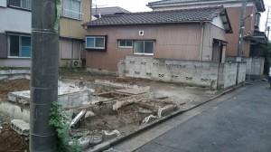 足立区佐野 木造二階建家屋解体工事のイメージ画像