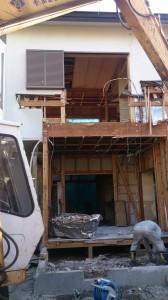 柏市西原 木造二階建家屋解体工事