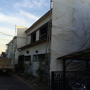 足立区神明南 木造二階建家屋解体工事のイメージ画像