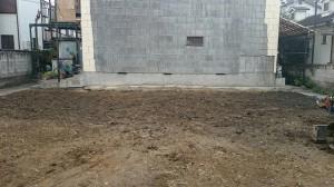 葛飾区東新小岩 木造二階建家屋解体工事のイメージ画像